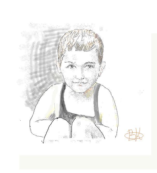 рисунки брату: